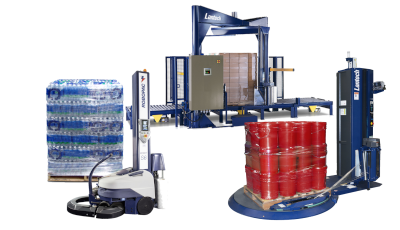 Palletizing and Stretch Wrapping Equipment