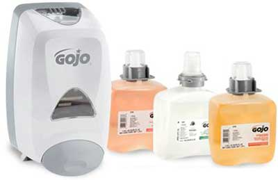 Soaps, Sanitizers, and Dispensers